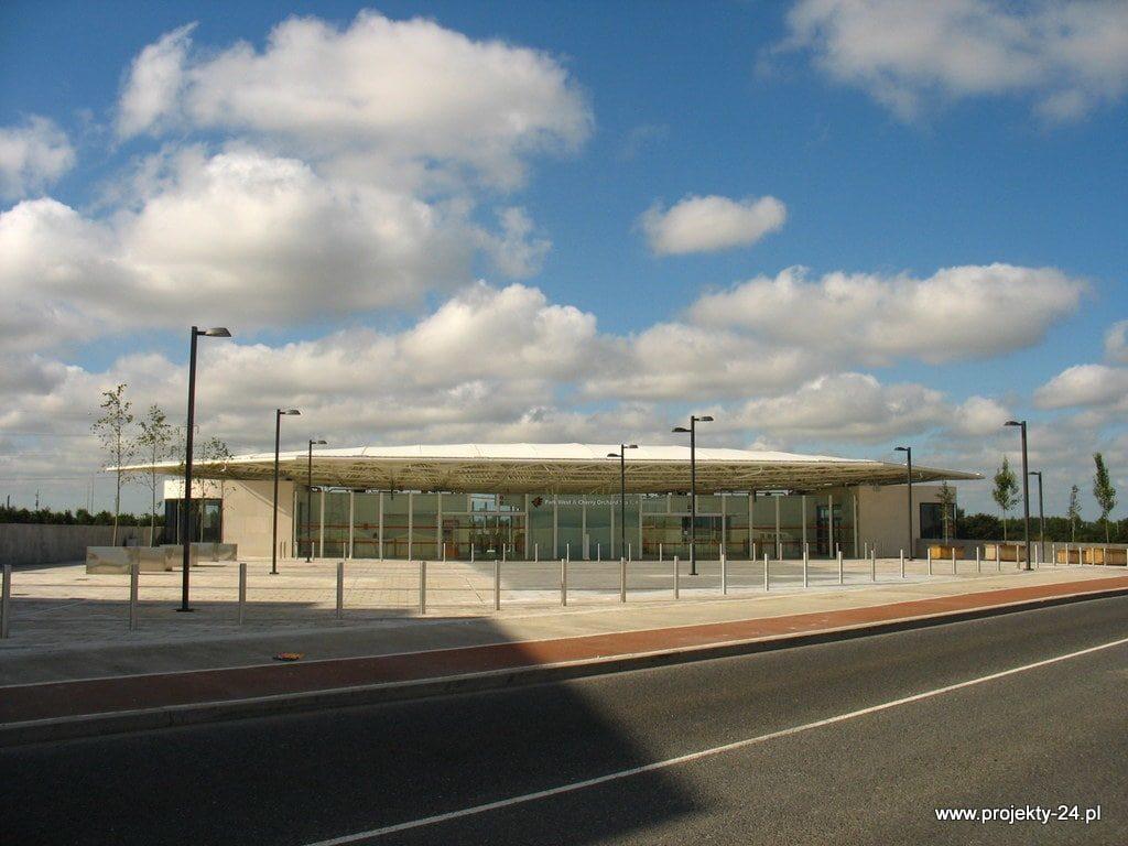 Projekty GISA - stacja Park West w Dublinie