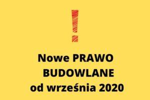 Nowa forma projektu budowlanego 2020.